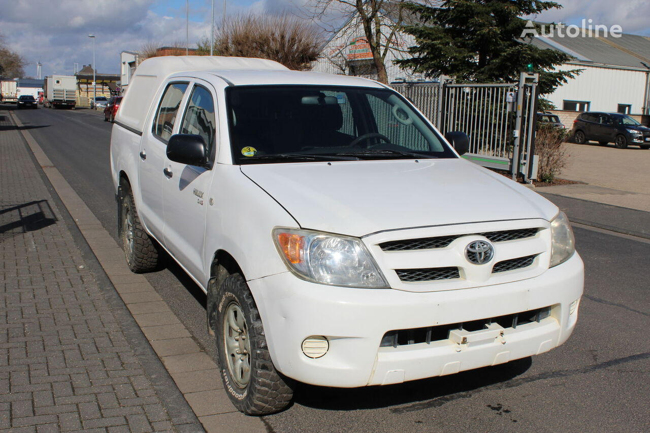 TOYOTA Hilux 4x4 Double Cab Hardtop VAT MwSt 1.Hand pick-up