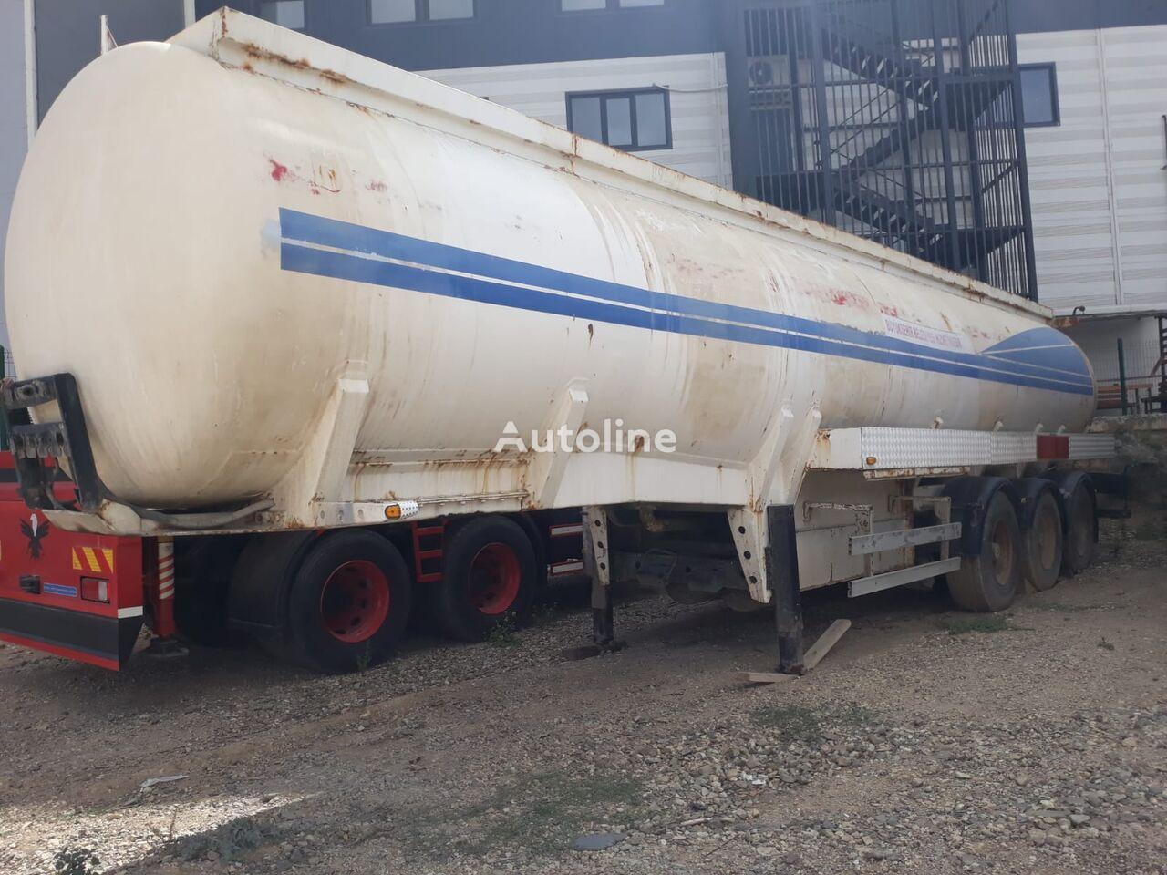 USED TANKER TRAILERS 33.000 lt / 7 compartment cisterna za gorivo