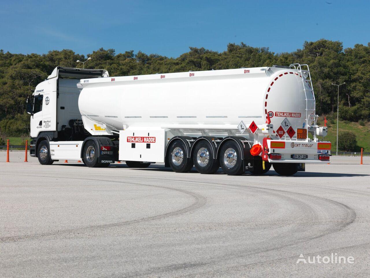 nova OKT TRAILER 38 m3 CONICAL TANKER cisterna za gorivo