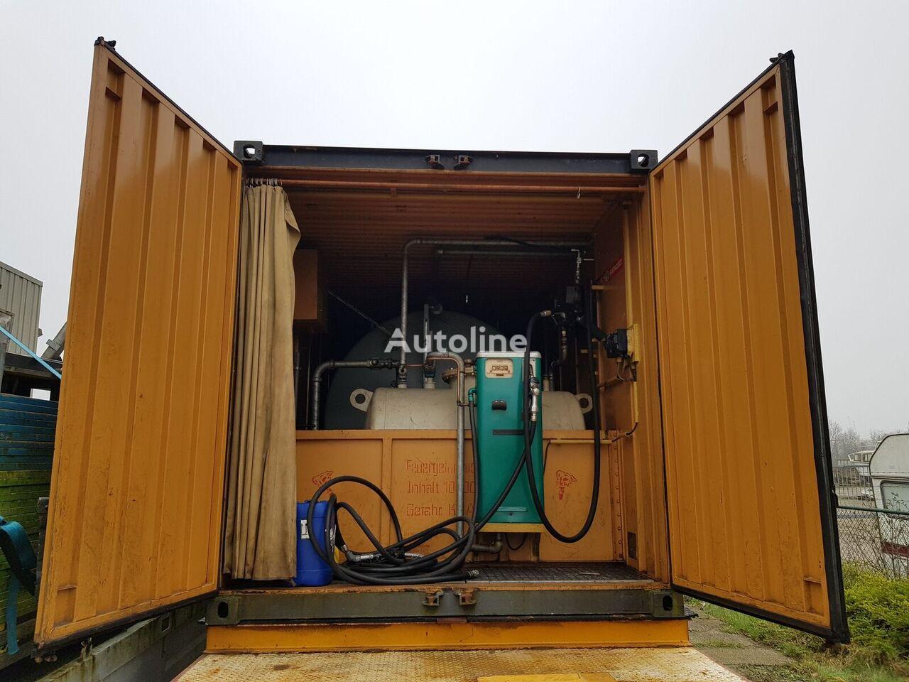 ONBEKEND Fuel container 10.000 + 2.000 Ltr cisterna za gorivo