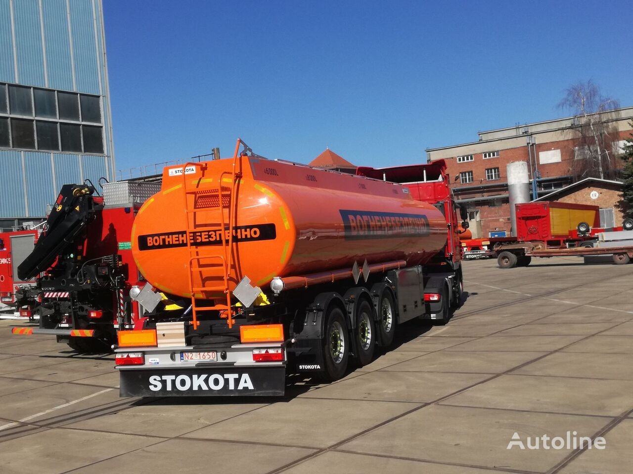 nova STOKOTA cisterna za gorivo