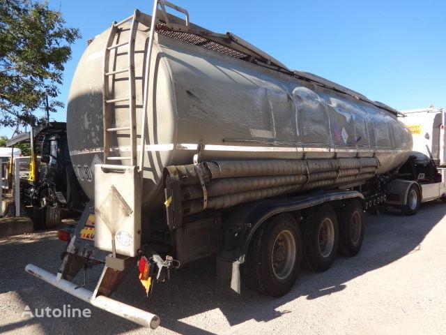TRAILOR Fuel 40000 liters accident cisterna za gorivo