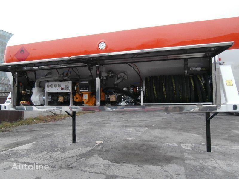 BC LDS smennoe shassi cisterna za plin