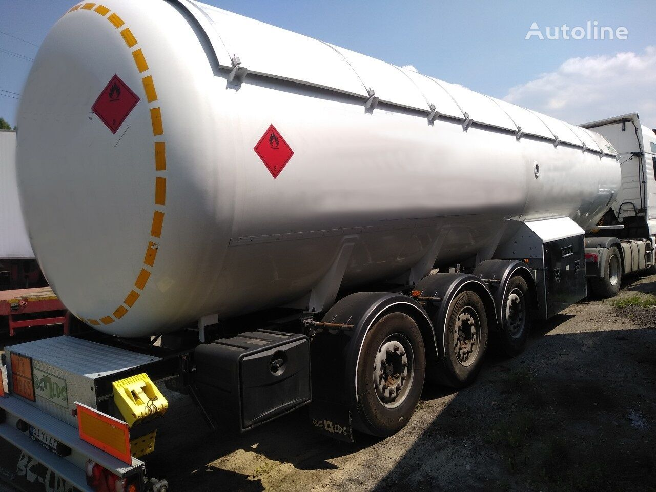LDS NCP cisterna za plin