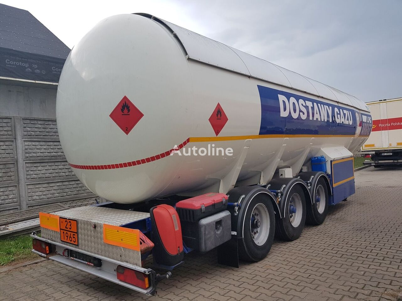 LDS NG-48 cisterna za plin