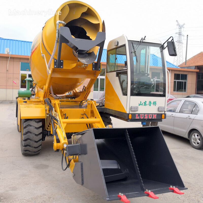 novi selfloading concrete mixer bager s dubinskom žlicom