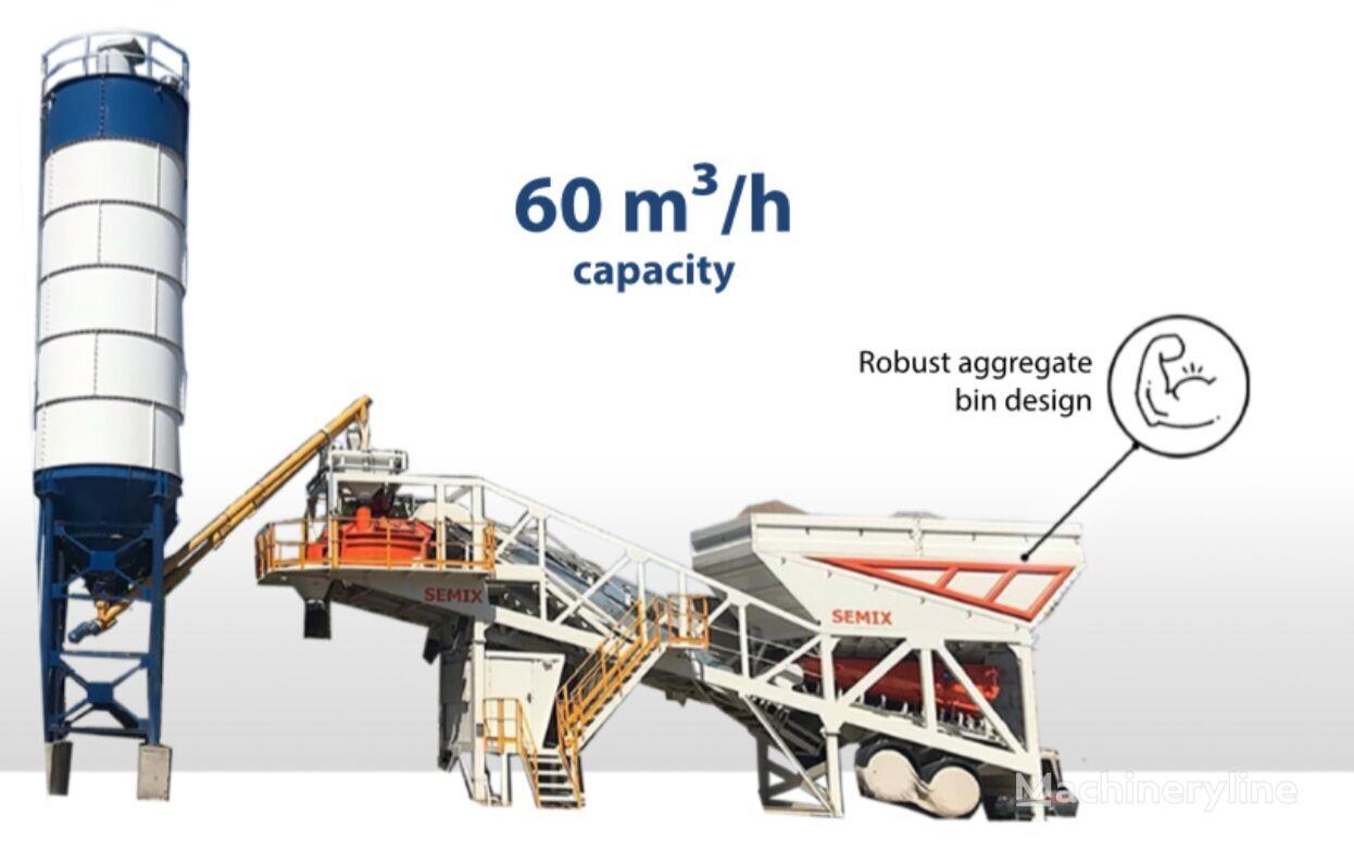 nova SEMIX Concrete Mixing Plant 60S betonara