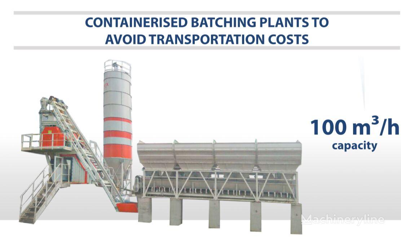 nova SEMIX SEMIX Compact Concrete Batching Plant 100 m³/h Containerised betonara