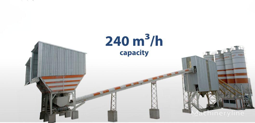 nova SEMIX SEMIX Stationary Concrete Batching Plant 240 m³/h betonara