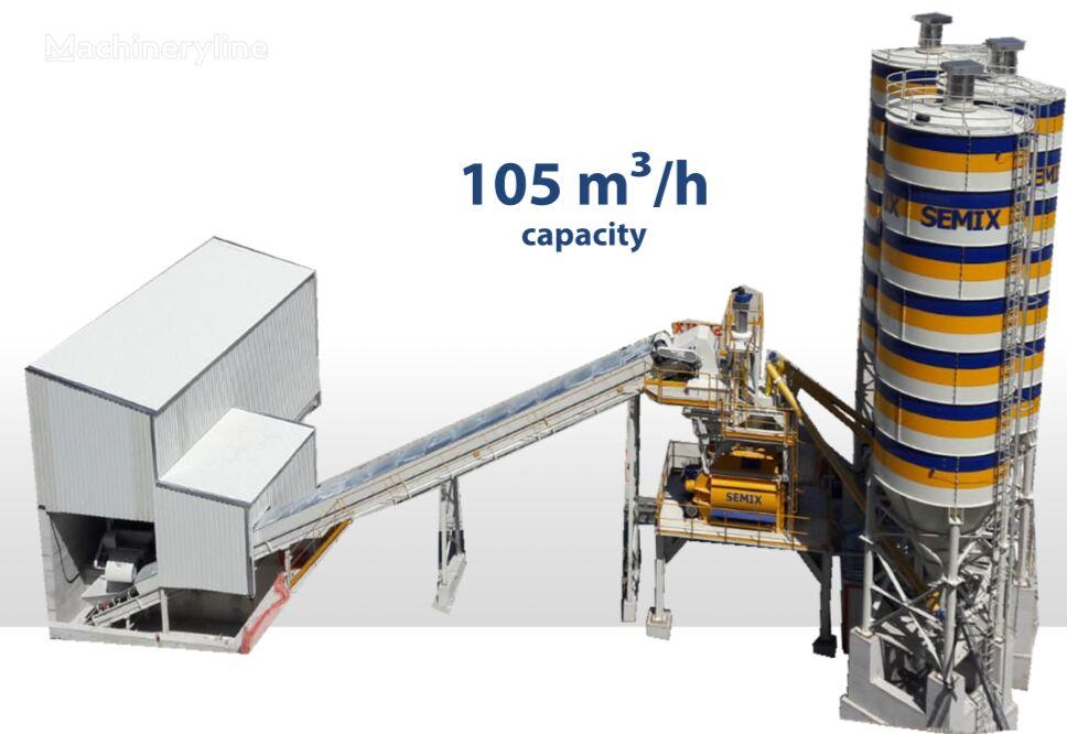 nova SEMIX SEMIX Stationary Concrete Bathcing Plant 105 m³/h betonara