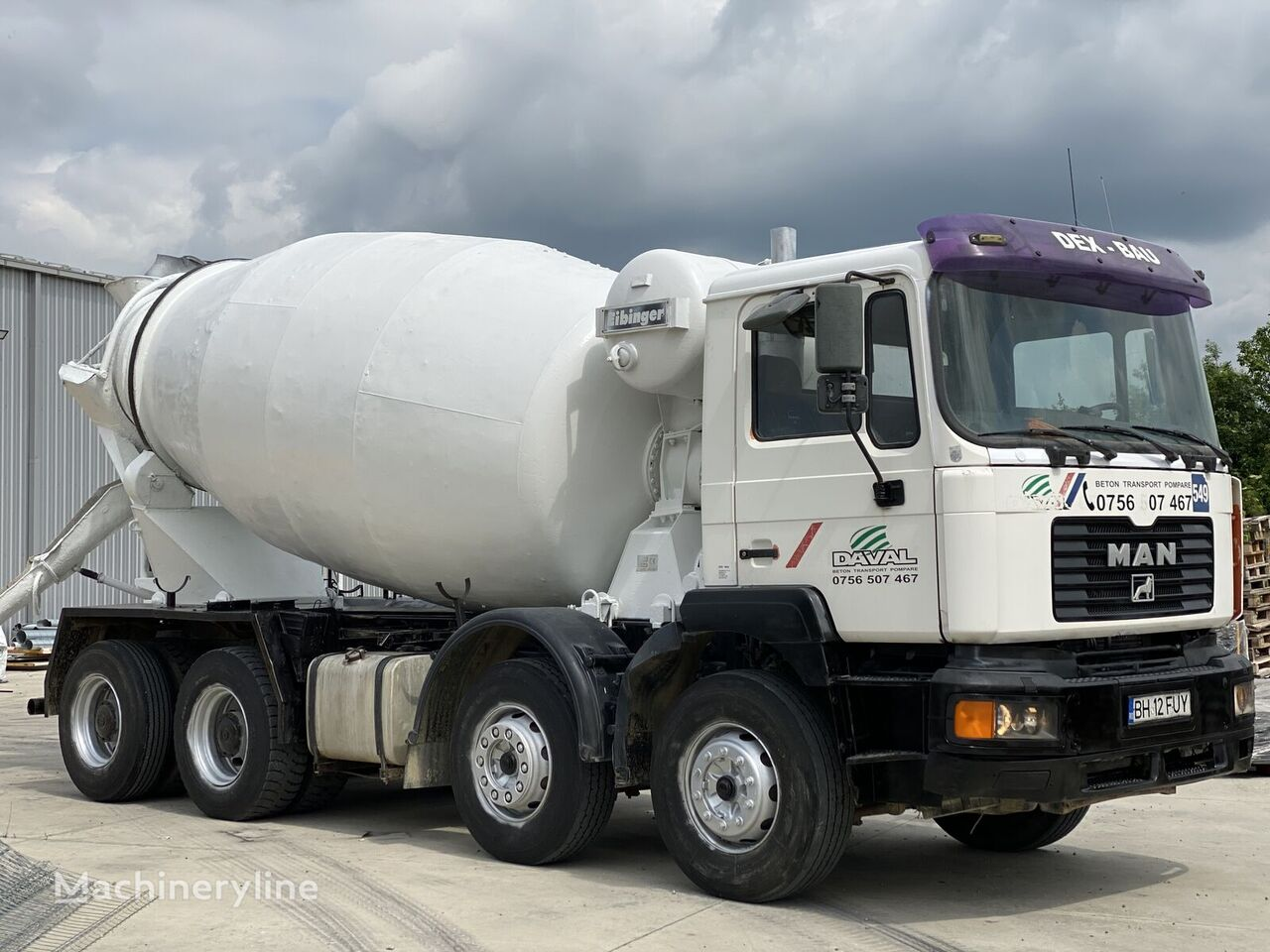 MAN 41.414 VFK 10MC kamion mješalica za beton
