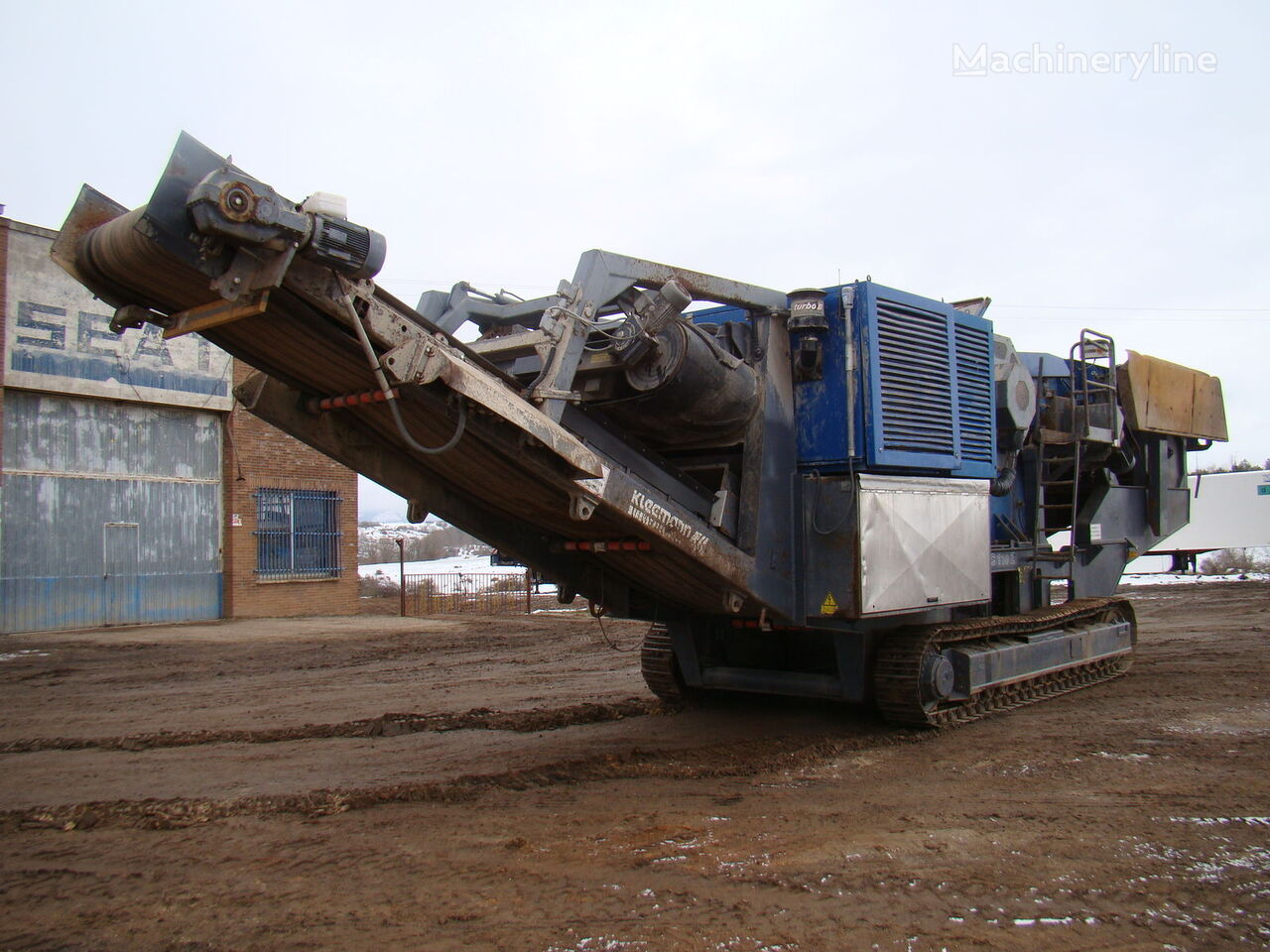 KLEEMANN MC 110 Z postrojenje za drobljenje