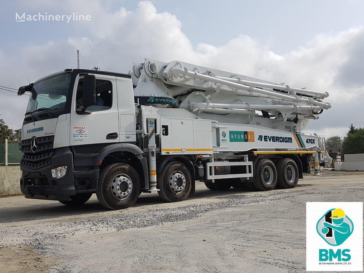nova MERCEDES-BENZ ECP 47 CX 5 pumpa za beton