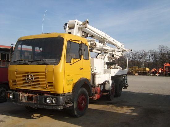 MERCEDES-BENZ FAP 1620 BD pumpa za beton
