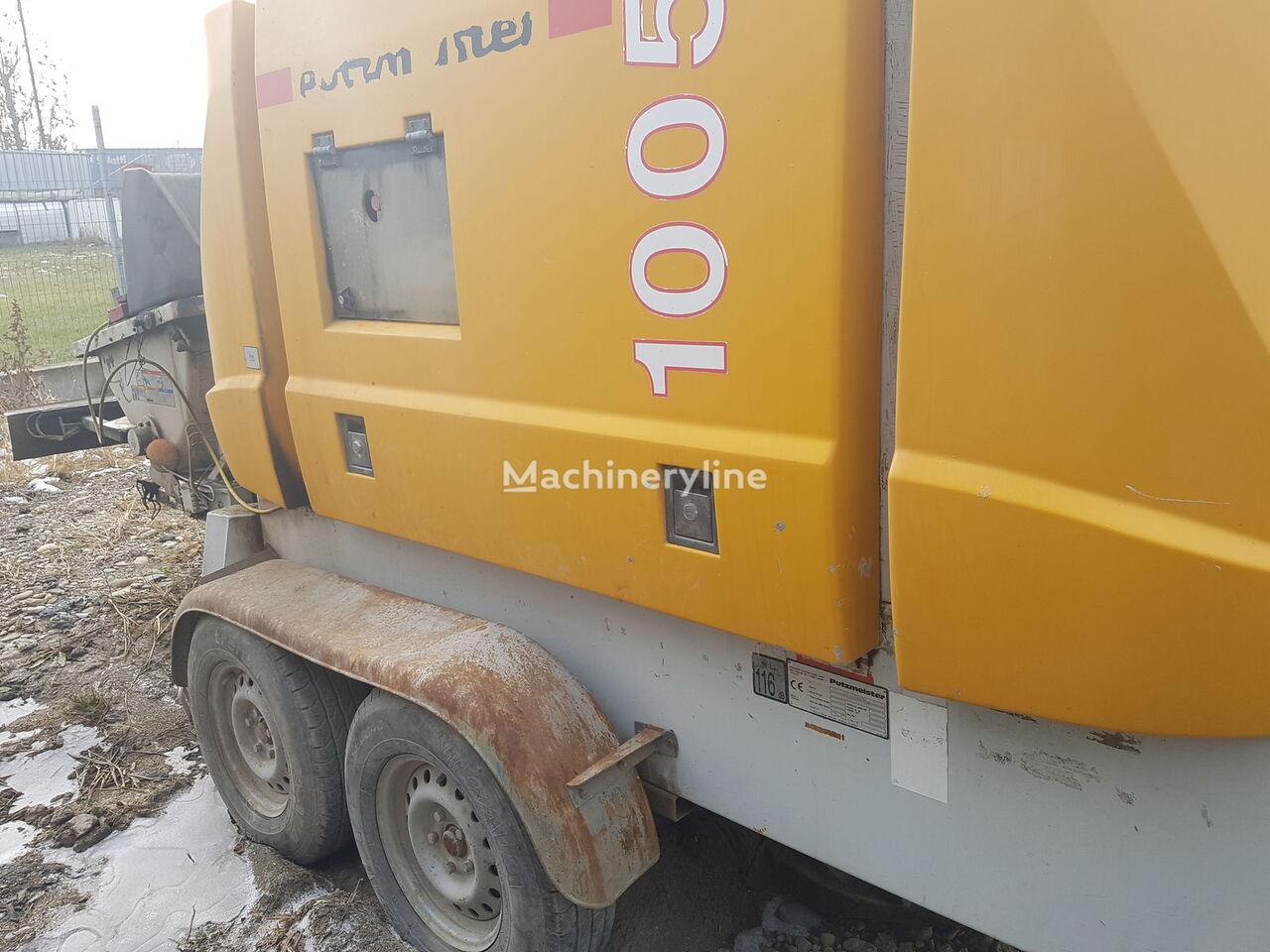 PUTZMEISTER 1005 stacionarna betonska pumpa