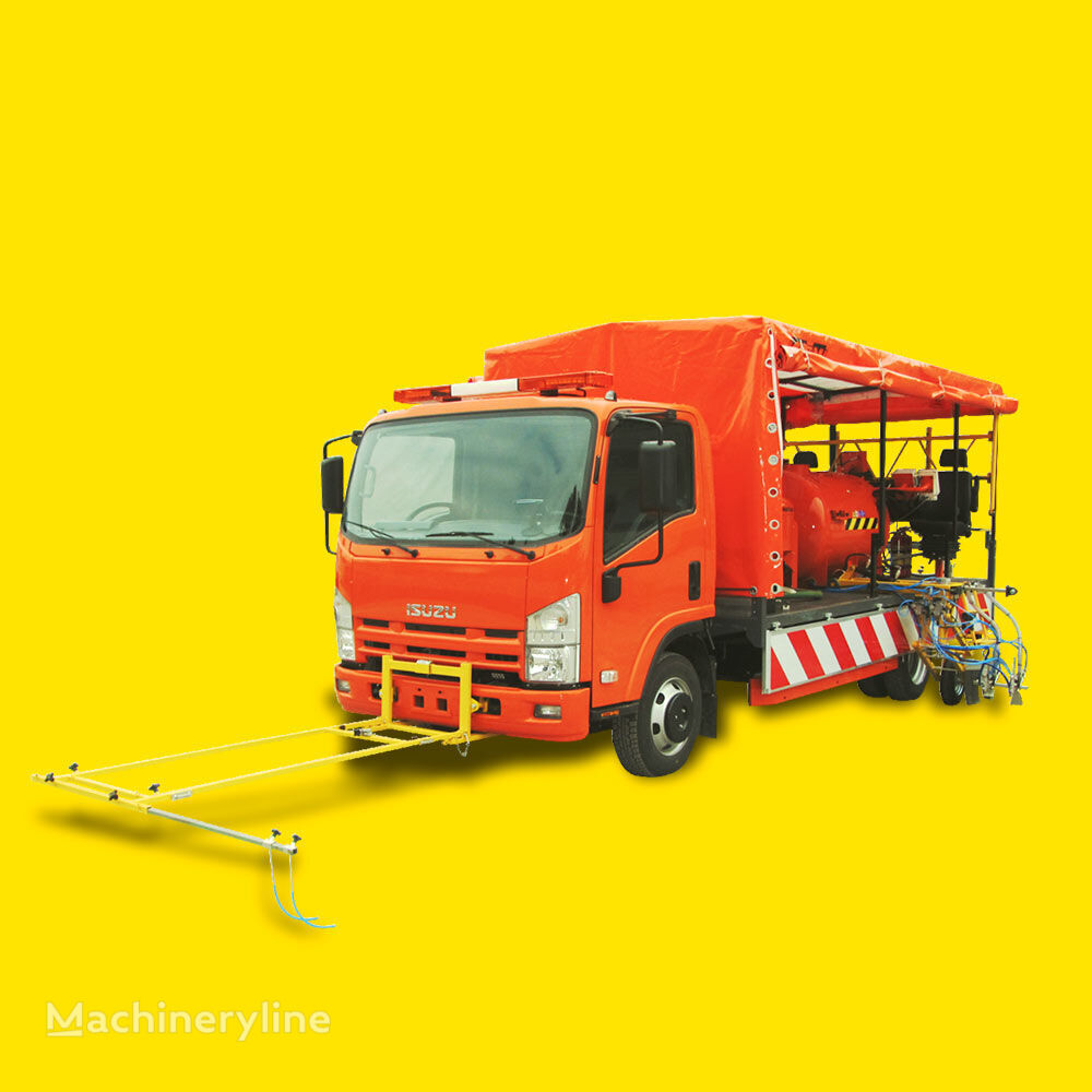 Shmel 12 A stroj za označavanje cesta