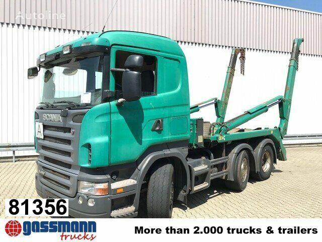 SCANIA R420 autopodizač kontejnera