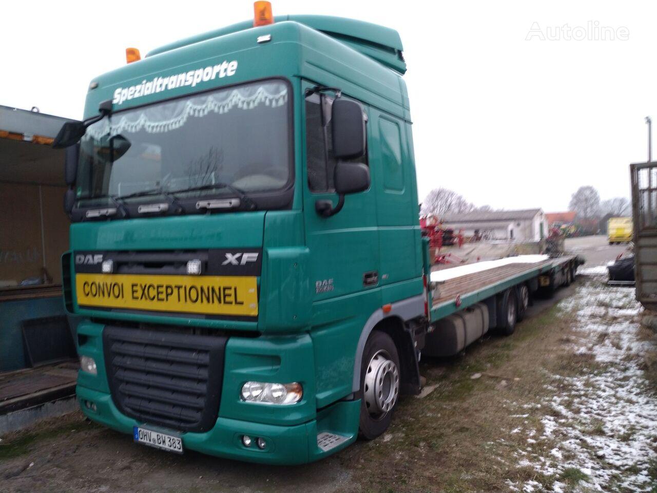 DAF 105.410 autotransporter + prikolica autotransportera