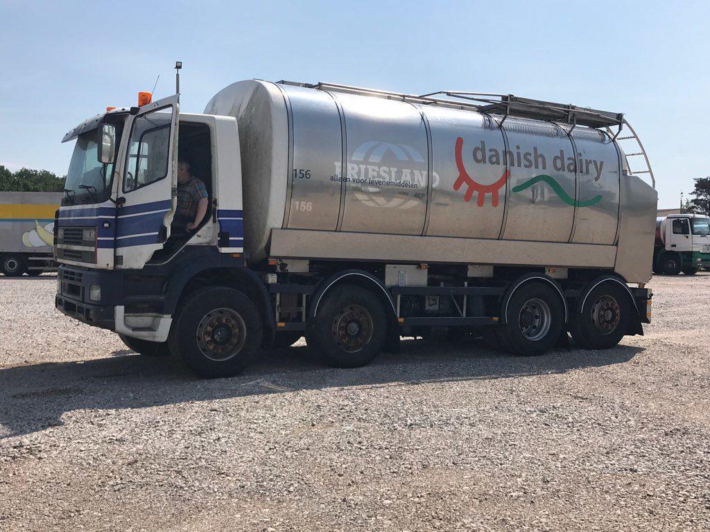 DAF CF 340 cisterna za mlijeko