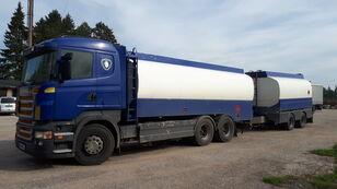 SCANIA R420 6x2 fuel tank kamion cisterna za gorivo + cisterna za gorivo