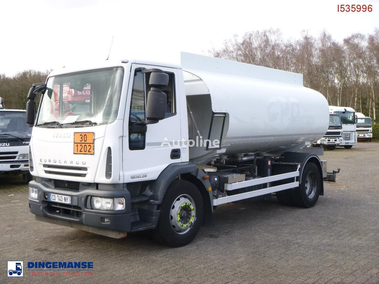 IVECO Eurocargo ML190EL28 4x2 fuel tank 13.7 m3 / 4 comp kamion cisterna za gorivo