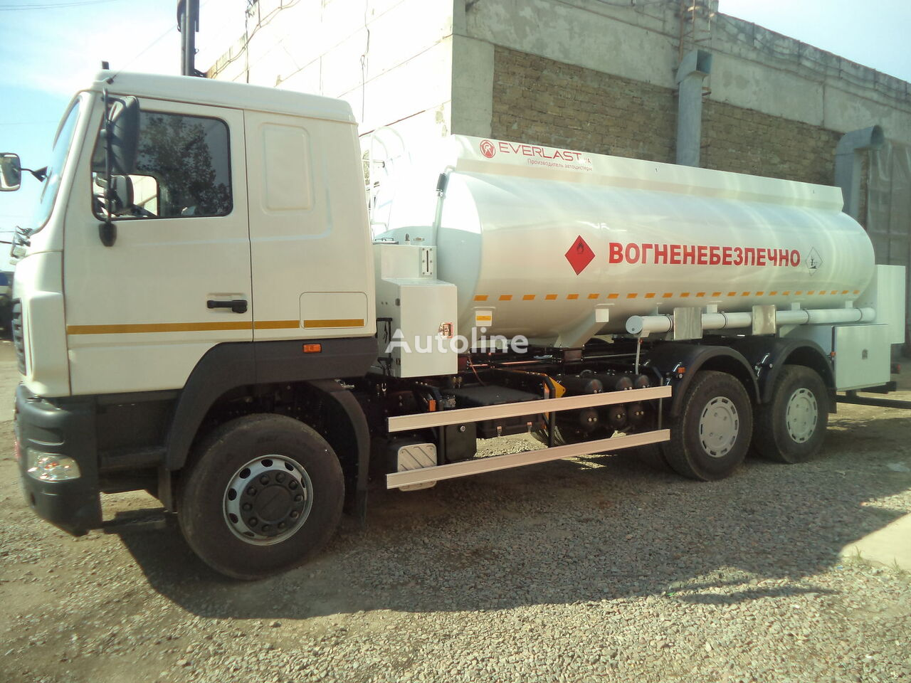 nova MAZ Everlast kamion cisterna za gorivo