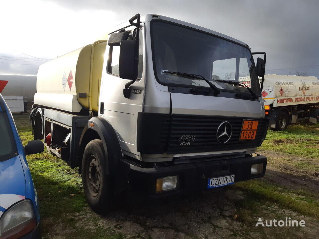 MERCEDES-BENZ 1717/ 13300L /  STEEL  kamion cisterna za gorivo