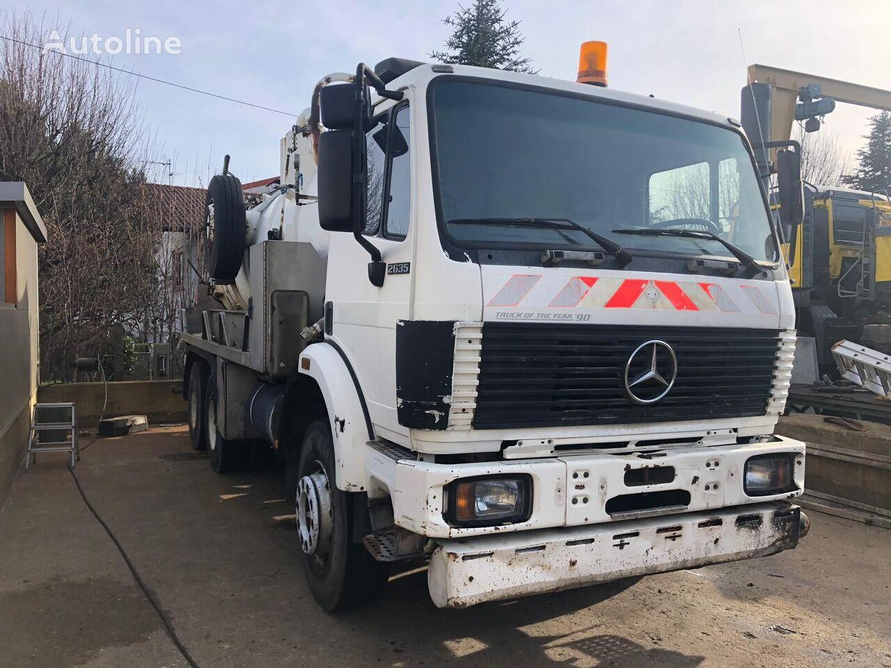 MERCEDES-BENZ 2635  kamion cisterna za gorivo