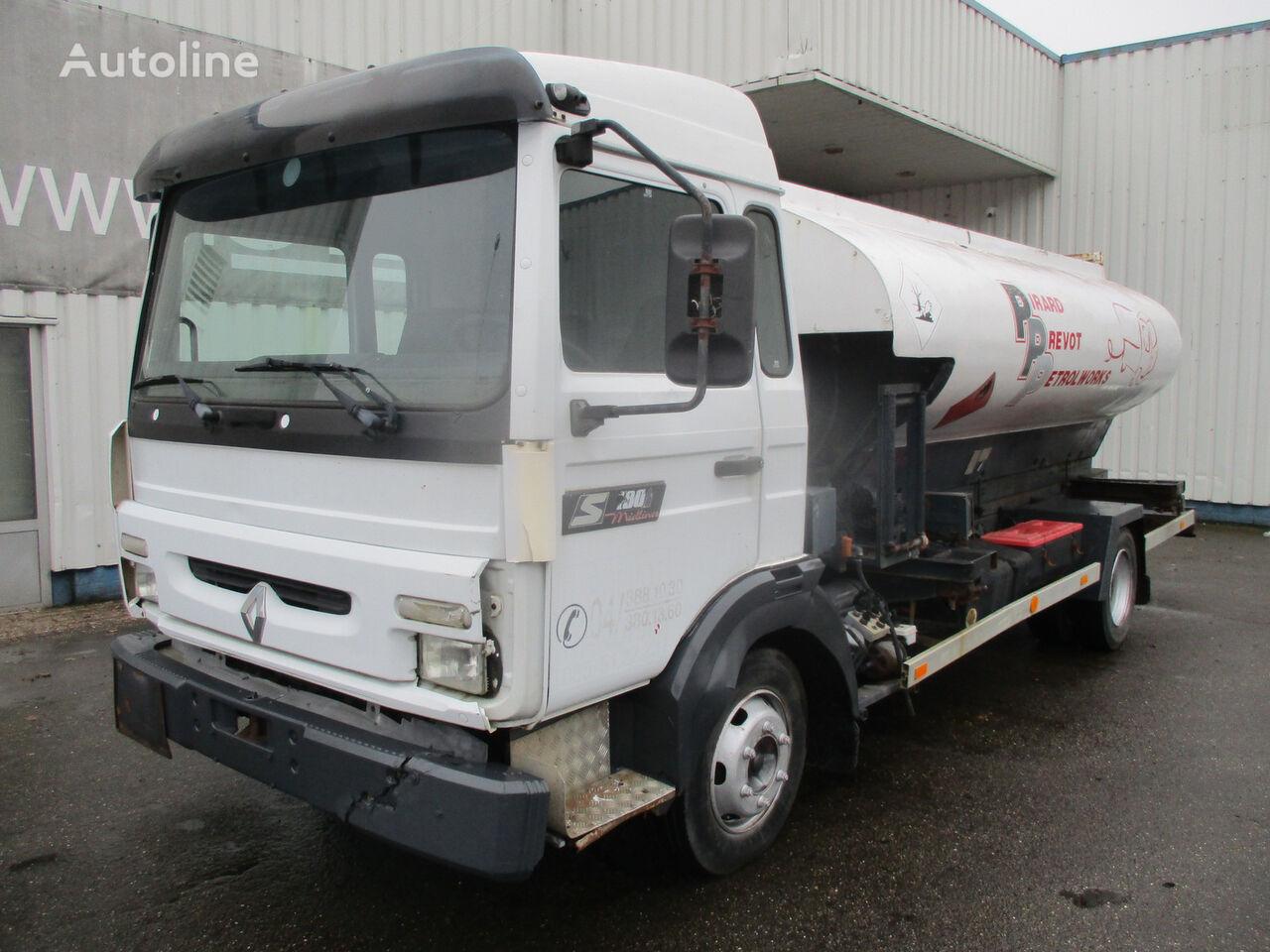 RENAULT Midliner S 180 , 4x2 , Belgium Fuel Truck , 7000 liters kamion cisterna za gorivo