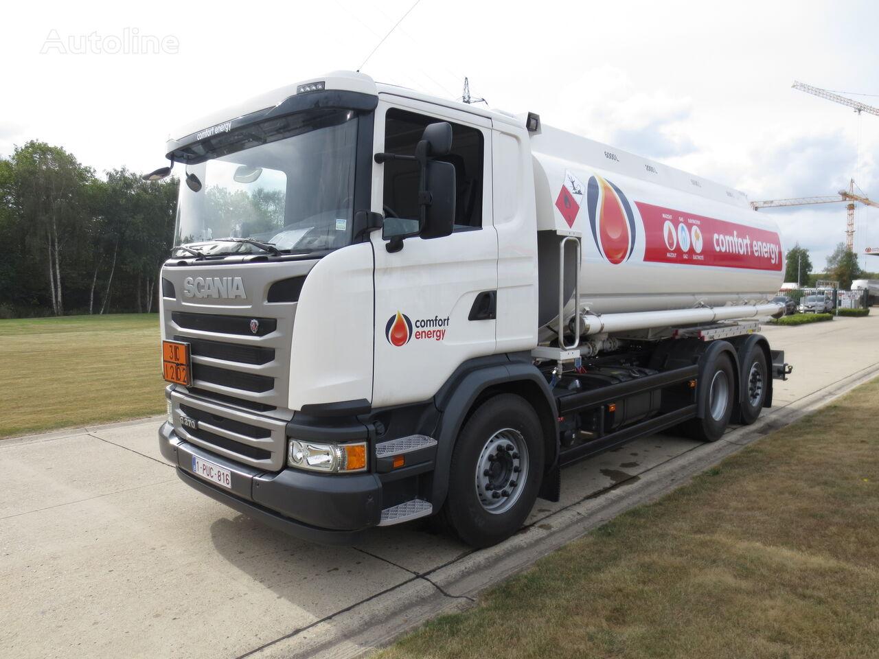 SCANIA kamion cisterna za gorivo
