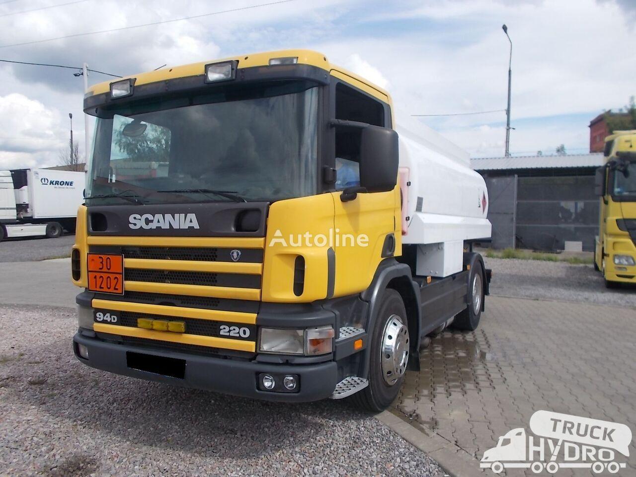 SCANIA P 94 - STAN BARDZO DOBRY !! kamion cisterna za gorivo
