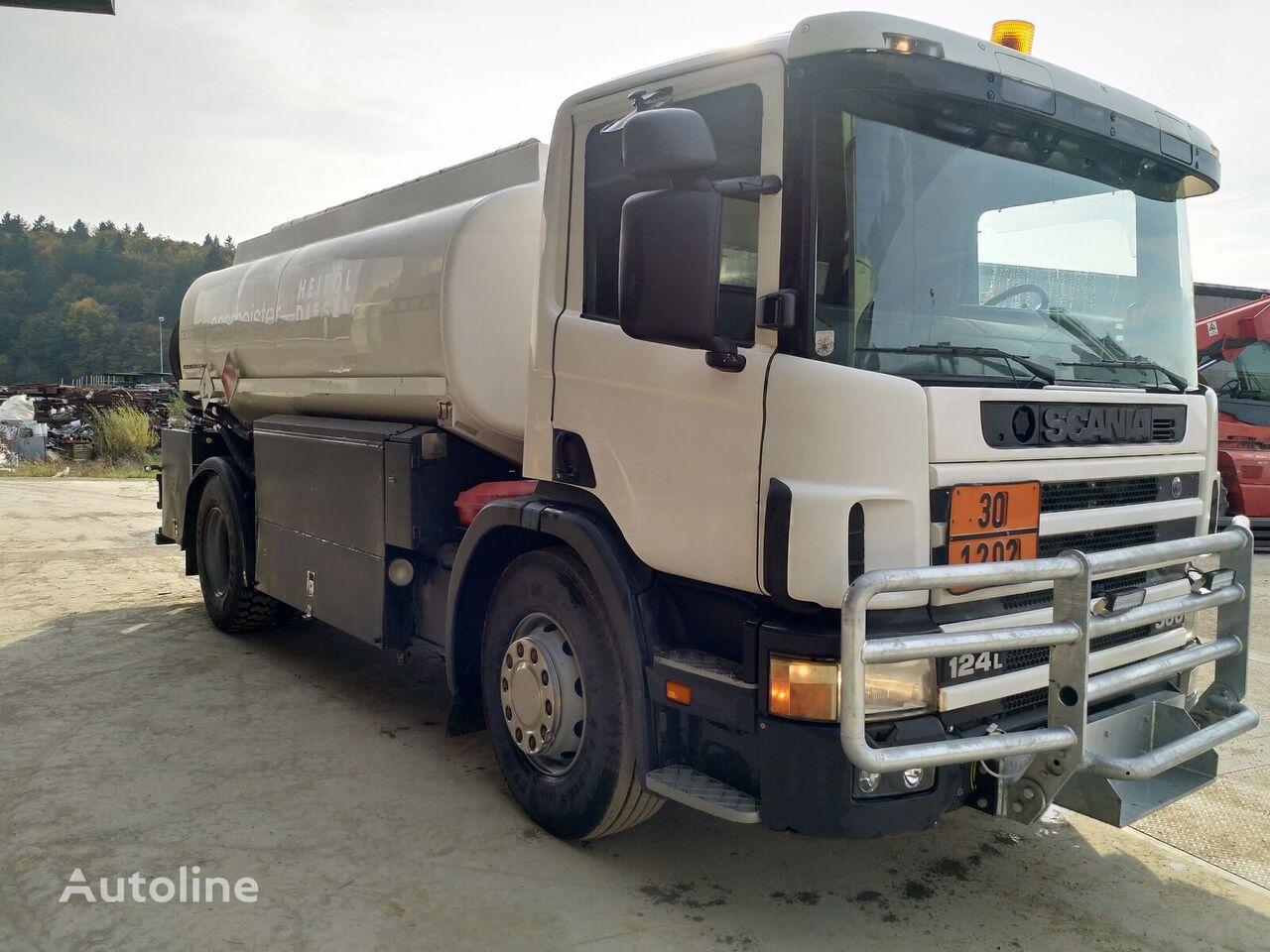 SCANIA P124 360 kamion cisterna za gorivo