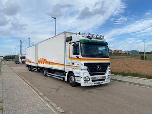 MERCEDES-BENZ ACTROS 1844 kamion furgon + prikolica
