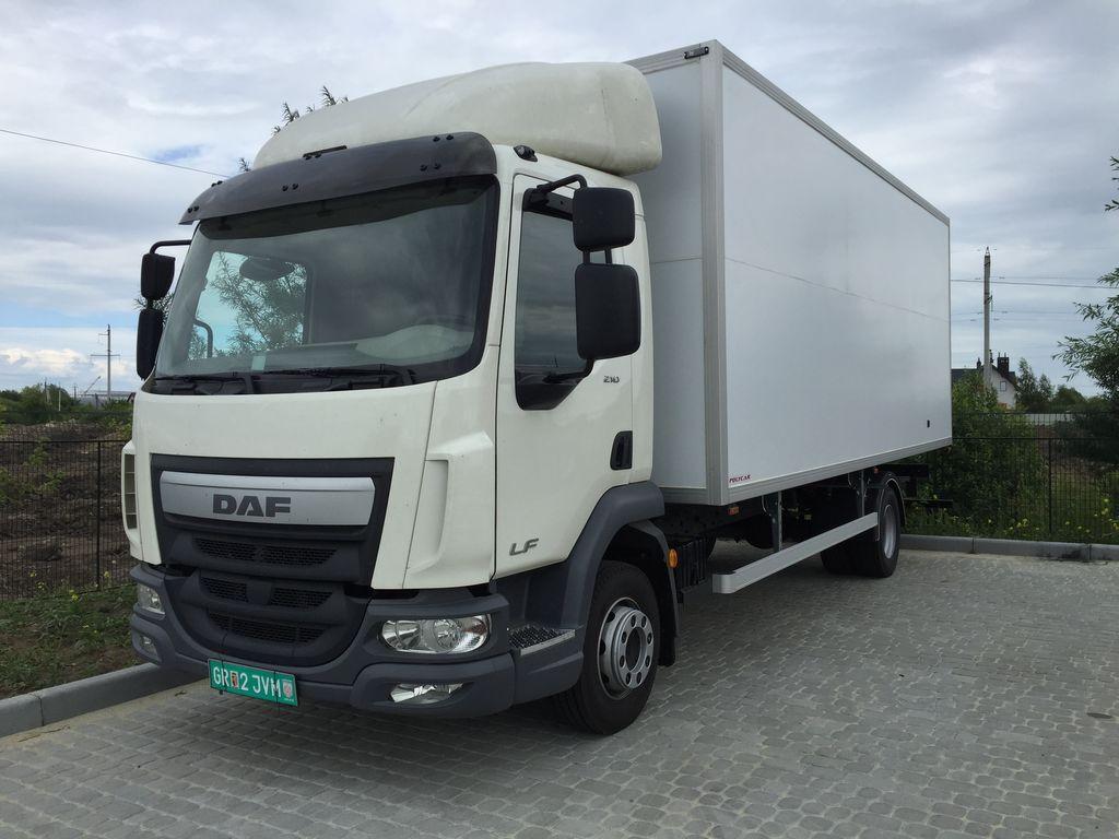 novi DAF LF kamion furgon