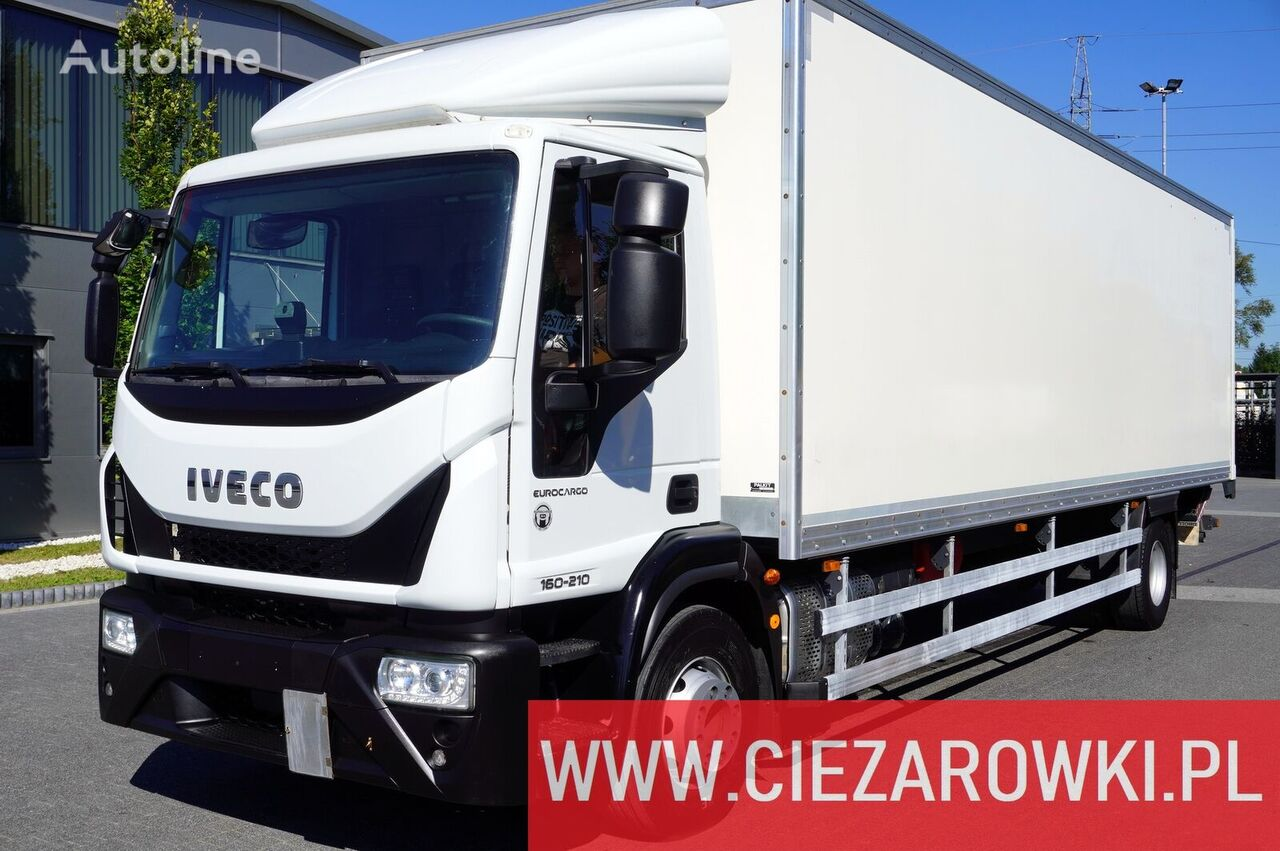 IVECO Eurocargo 120E19 , E6 , 4x2 , 21 EPAL , box 8,5m , side door , l kamion furgon
