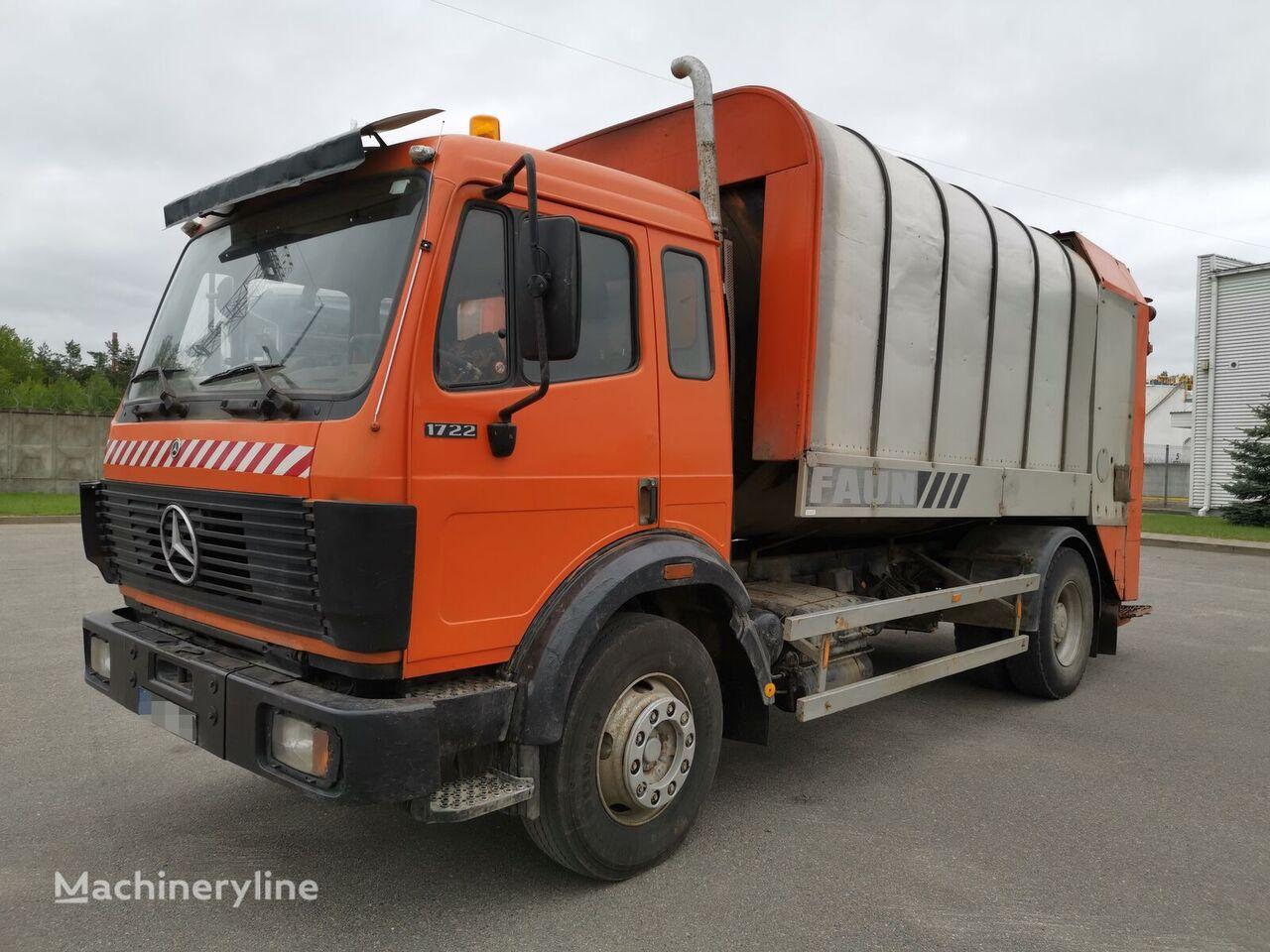 MERCEDES-BENZ 1722 kamion furgon