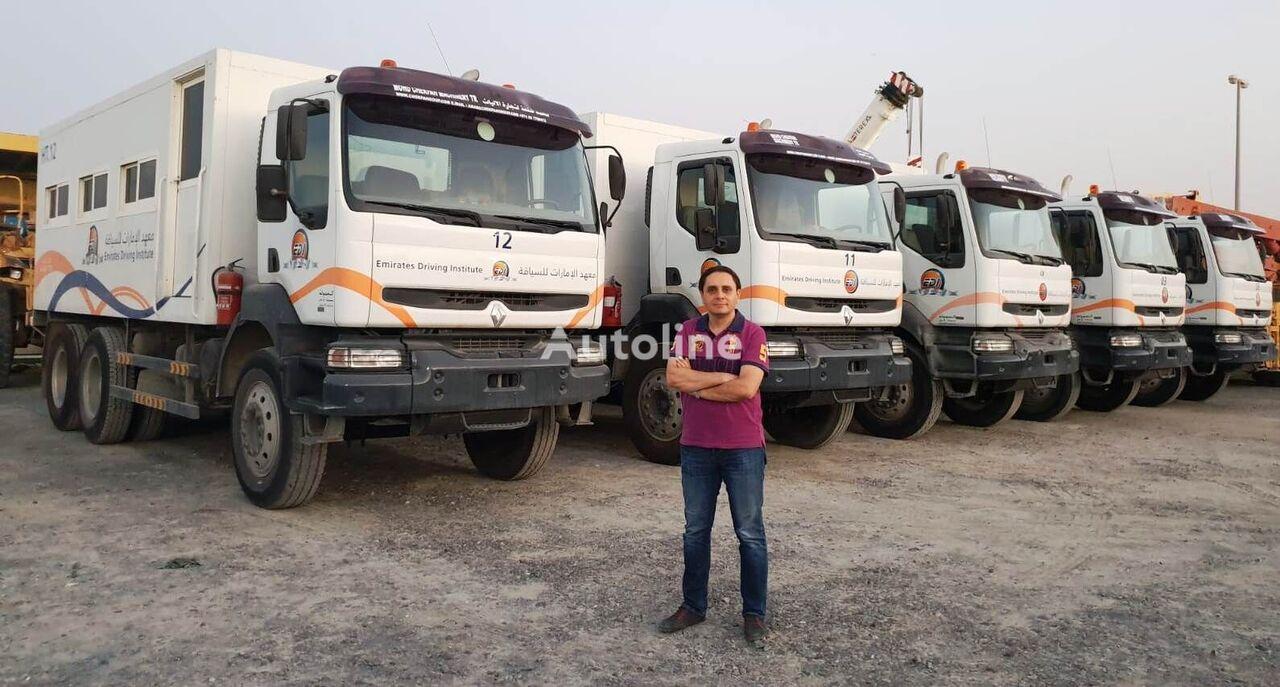 RENAULT KERAX 350 kamion furgon