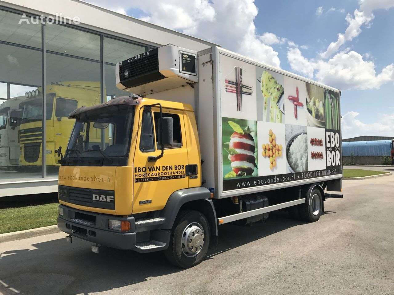 DAF 55.180 ATI EURO2 MANUAL + CARRIER + LBW *TOP* kamion hladnjača
