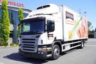 SCANIA P280 , E5 , 18 EPAL , Meat HOOKS , tail lift , retarder , sleep  kamion hladnjača