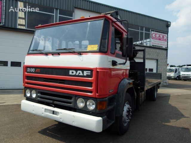 DAF 2100 - 4x2 - Crane HIAB190 kamion platforma