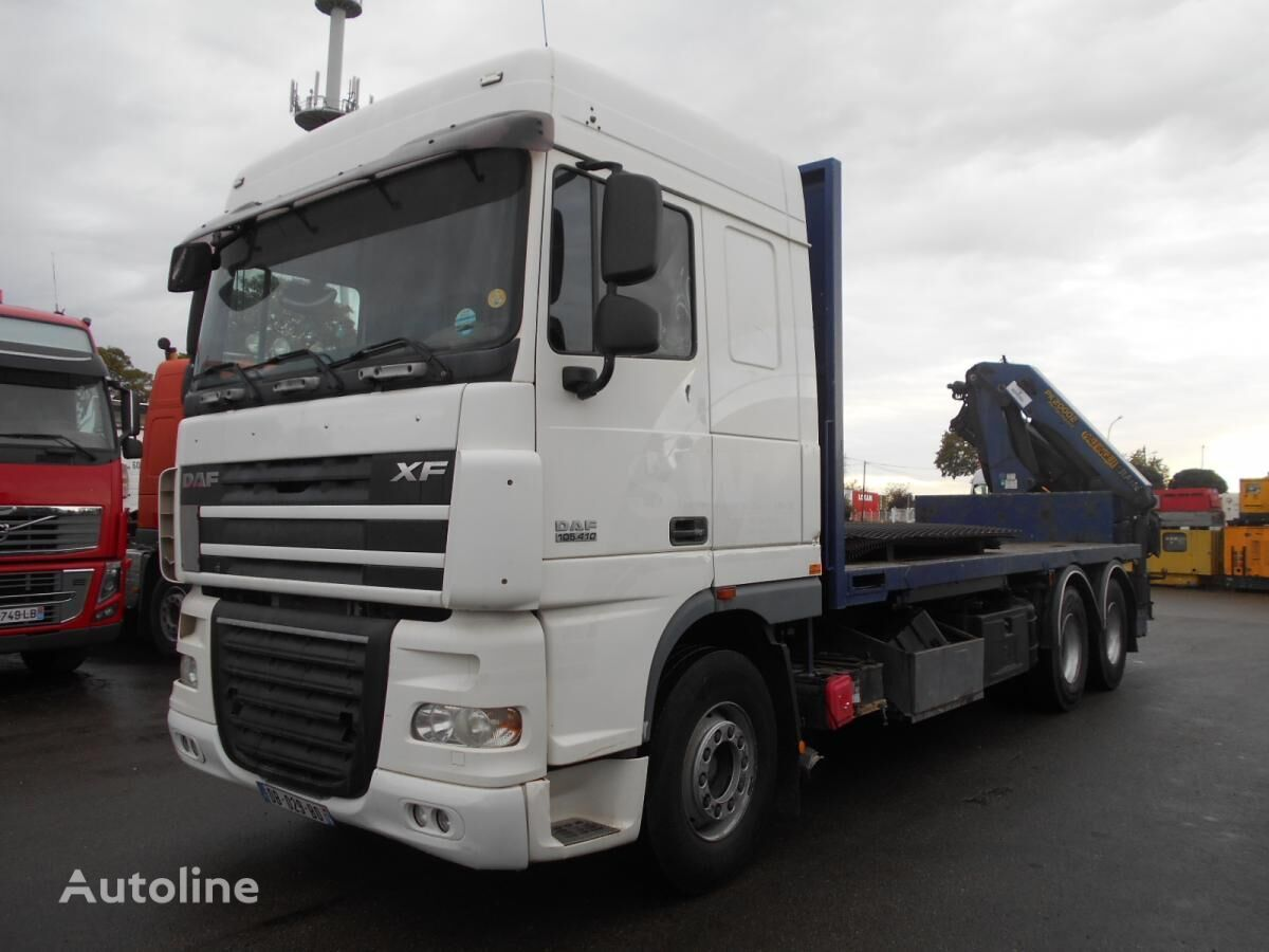 DAF XF105 410 kamion platforma