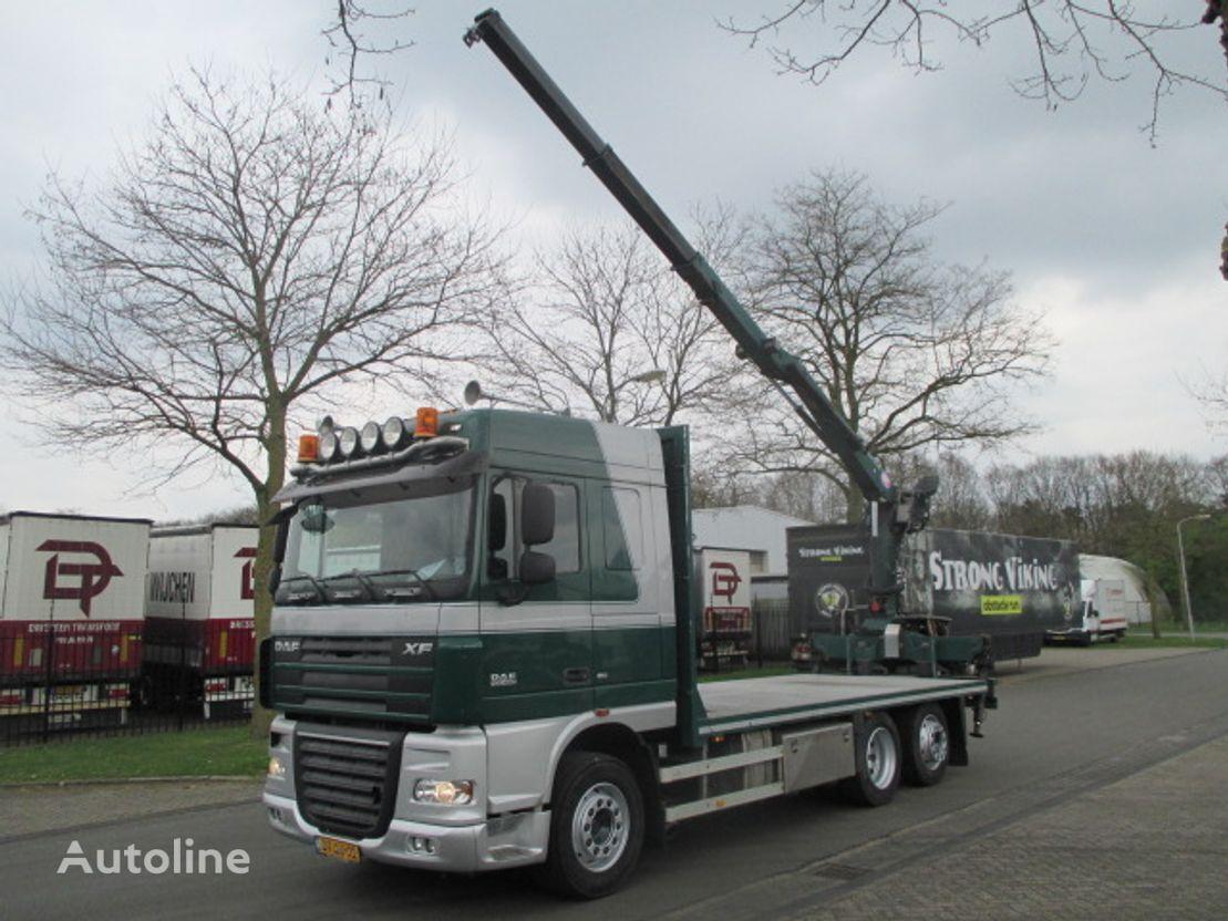 DAF xf  kamion platforma
