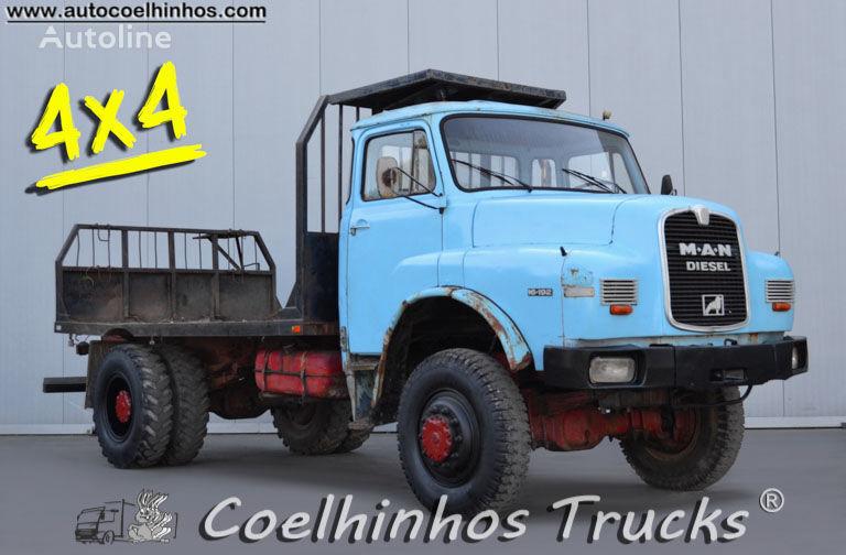 MAN 16.192 HAK kamion platforma
