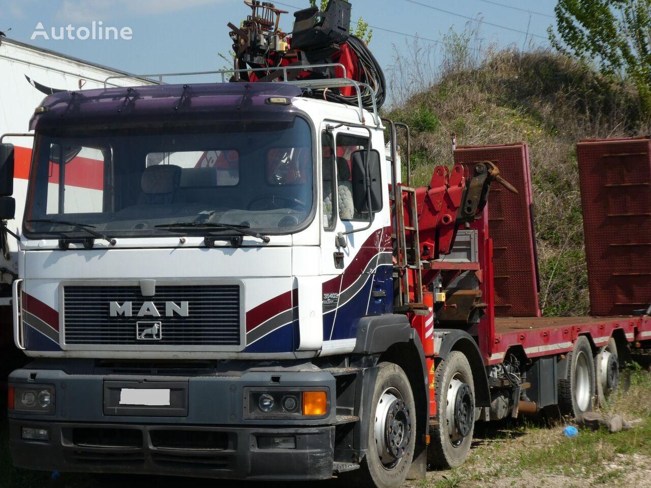 MAN F2000 35.401 SILENT kamion platforma