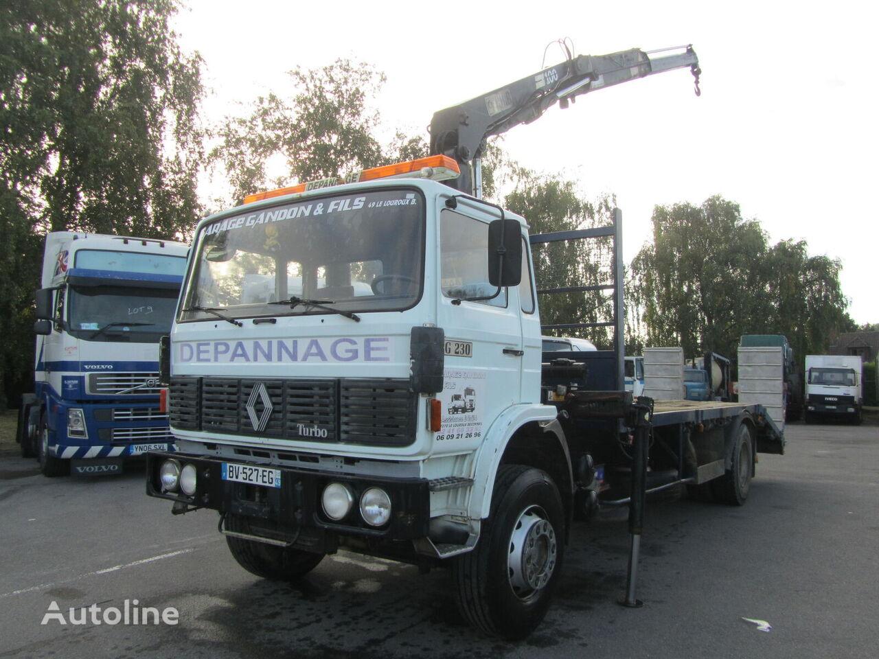 RENAULT G230 kamion platforma