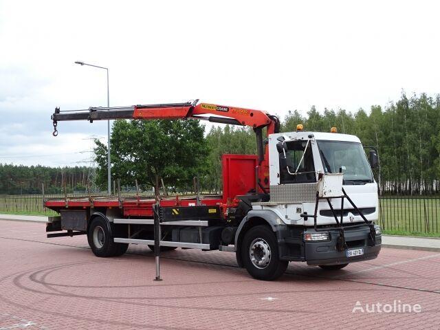 RENAULT PREMIUM HATTY 320 DCI  kamion platforma