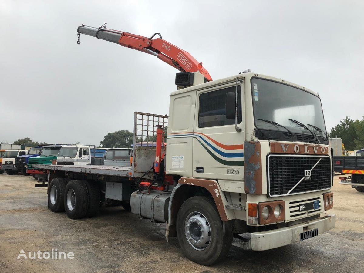 VOLVO F12-25 Full Steel Suspension kamion platforma