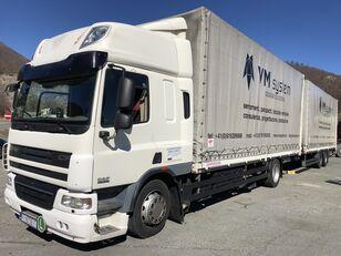 DAF Cf 75 310 kamion s ceradom + prikolica sa ceradom