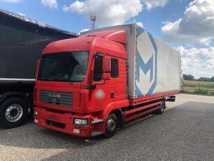 MAN TGL 8.180 BB, 7.6m Pritsche kamion s ceradom