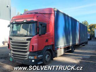 SCANIA R400,Euro 5, Automat kamion s ceradom + prikolica sa ceradom